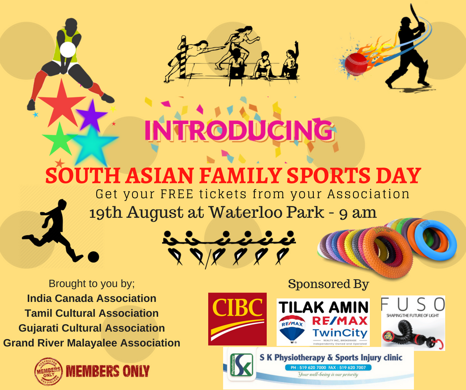 South Asian Family Sports Day